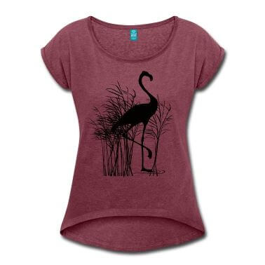 T-shirt-flamant-rose